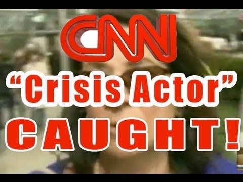 CAUGHT! CNNc CIA Crisis Actor At Boston Marathon & Suspect Shootout