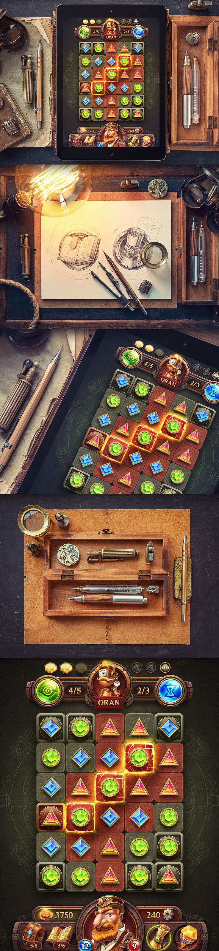 iOS Games   Part 4 on Behance