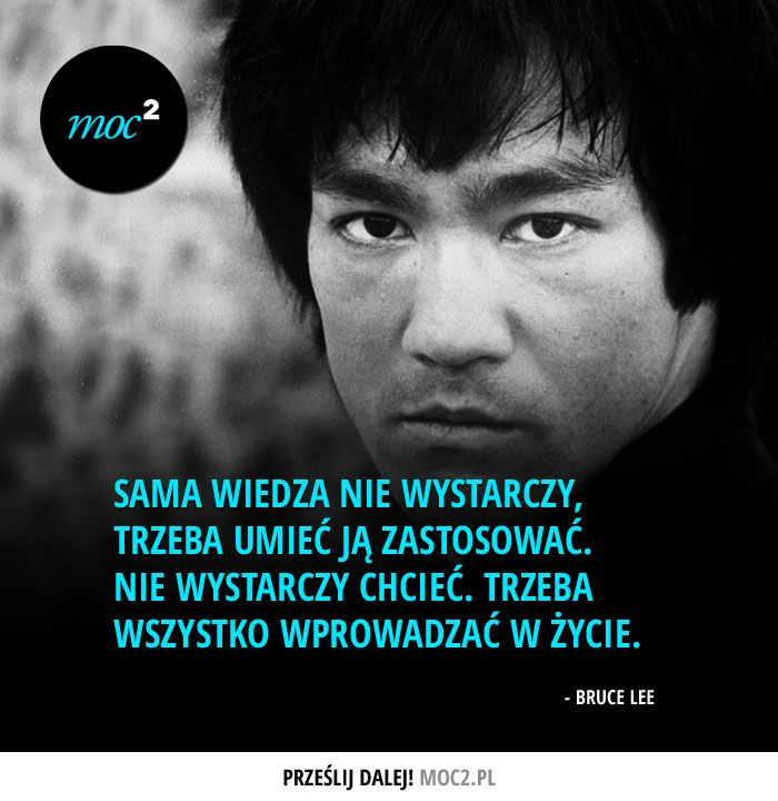 #cytaty #motywacja #quotes #inspiration #motivation #BruceLee #karate