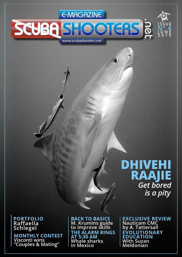 Scubashooters net e mag issue n4 june 2015  Underwater Photo Portfolio Raffaella Schlegel