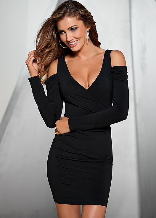 LOVE this dress.  Can't wait to wear it.  So perfect for club, dinner, evening wedding, girls night.......