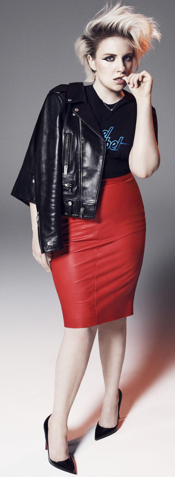 Lena Dunham on Elle February 2015