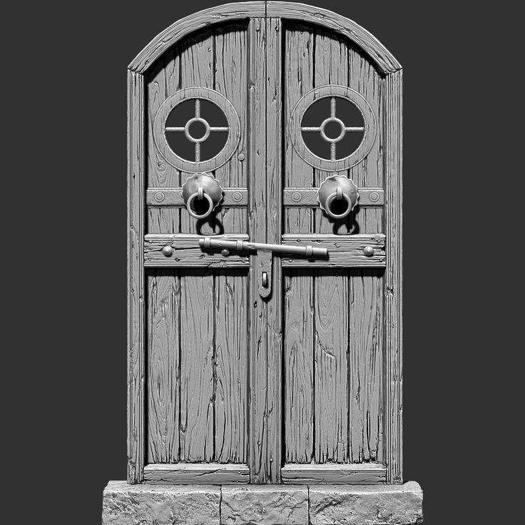 ArtStation - Ancient_Door, Navpreet Dhanjal