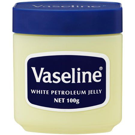 Vaseline Petroleum Jelly -- this is a great blog post on cosmetic grade mineral oil and petroleum jellies!