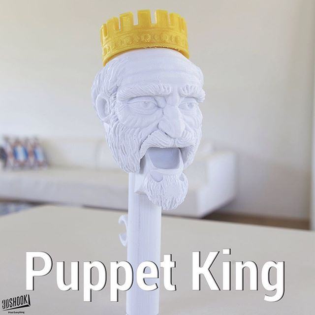 """@3dshookcollections's photo: """"the PUPPET collection - our talking puppet heads...kids and adults love it!!! At 3DShook we remember Home Theatre has """"Home"""" in it. Check us out at www.3dshook.com #3dprint #3dmodels #3dprinted #3dprinter #3dprinting #PrintEverything #makers #makermovement #makersgonnamake #tech #technology #puppet #puppets #puppetshow #puppettheatre #kidstuff #king #royalty #gameofthrones"""""""