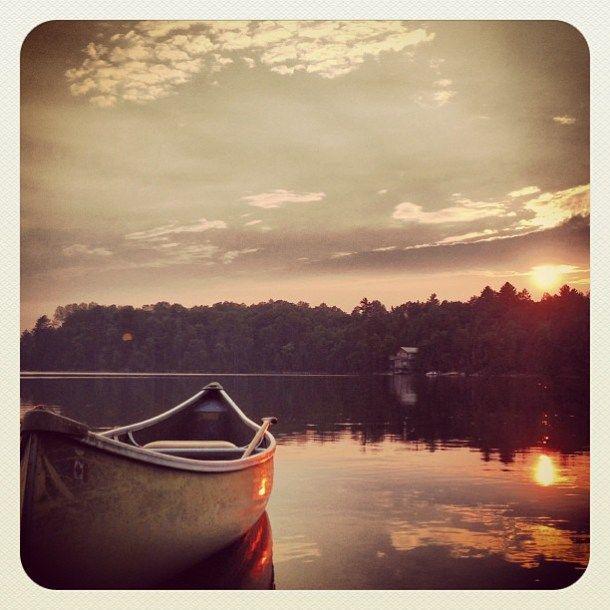 "Kawartha Lakes, Ontario – @seeusontravel ""Happy Canada Day! Enjoyed this long weekend doing something very Canadian: canoeing on a lake."" #DiscoverOntario"