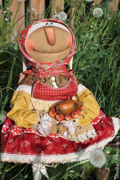 Поросенок в яблоках! - примитив,примитивная кукла,примитивы,текстильная кукла