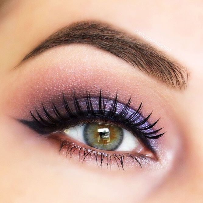 how to put on eye makeup for hazel eyes