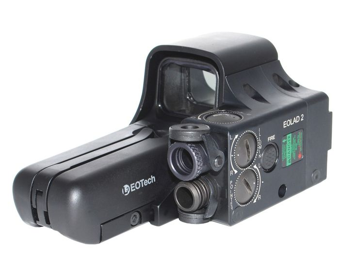 The impressive EOLAD™ combines the power and precision of Laser Devices Inc' laser with the speed and proven effectiveness of the L-3 EOTech 552 HWS combat optic. This single, cutting-edge device pro­vides lightening fast target acquisition and delivers impeccable shooting accuracy. Red or green visible laser, IR pointer, illuminator, it's your call?
