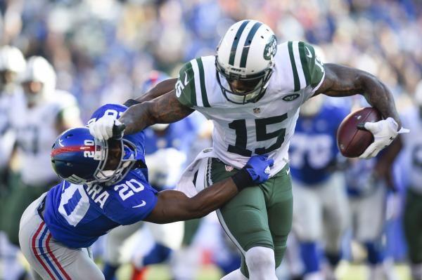 New York Jets' Brandon Marshall leaves briefly with knee injury - UPI.com
