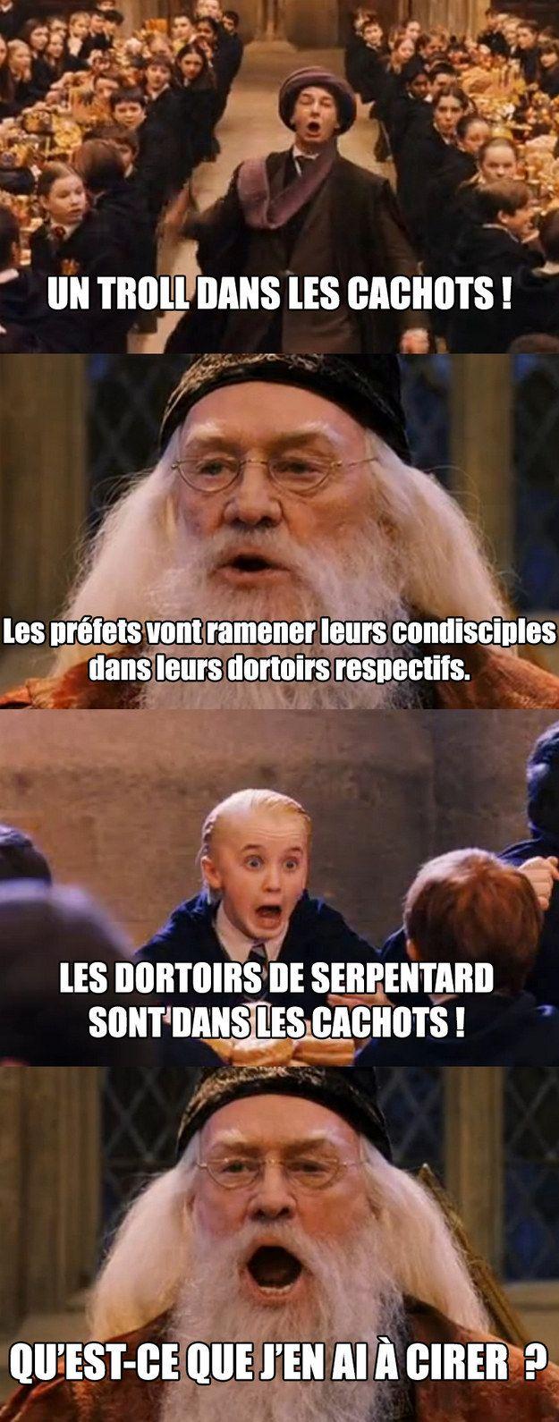 La tête de Malfoy!! Trop Lol!!