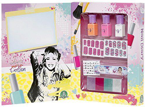 Violetta – 4927.0 – Maquillage – Nail Book: Tout le nécessaire pour des ongles au top Inclut : 3 vernis à ongles, 1 lime à ongles, 2 sets…