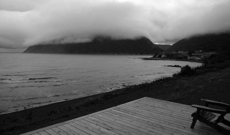 Paysage changeant de la Gaspésie.