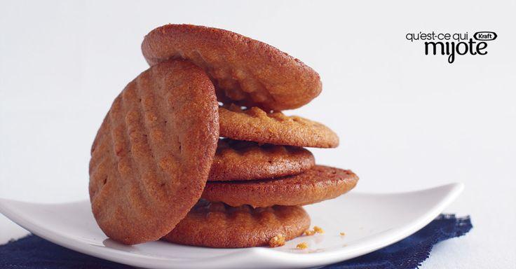 Biscuits au beurre d'arachide super faciles #recette