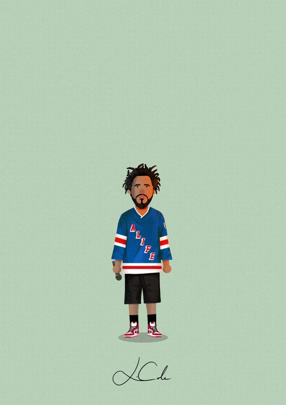 Natalia Giselle J Cole Art J Cole Rap Wallpaper