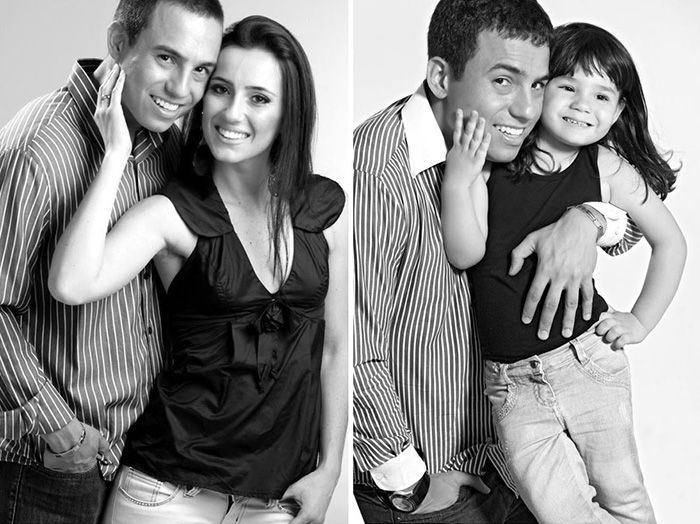 Widowed Husband Recreates 12 Engagement Photos With His 2-Year-Old Daughter