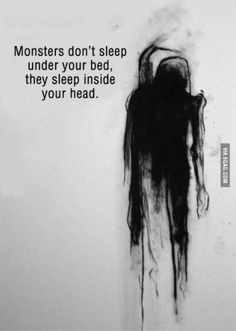 As someone who suffers from depression, I can say that there is nothing more real than this.
