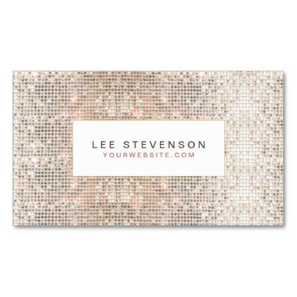 19 best business card images on pinterest business card design girly business card blog feature for august 21 1014 fun faux silver sequins beauty colourmoves
