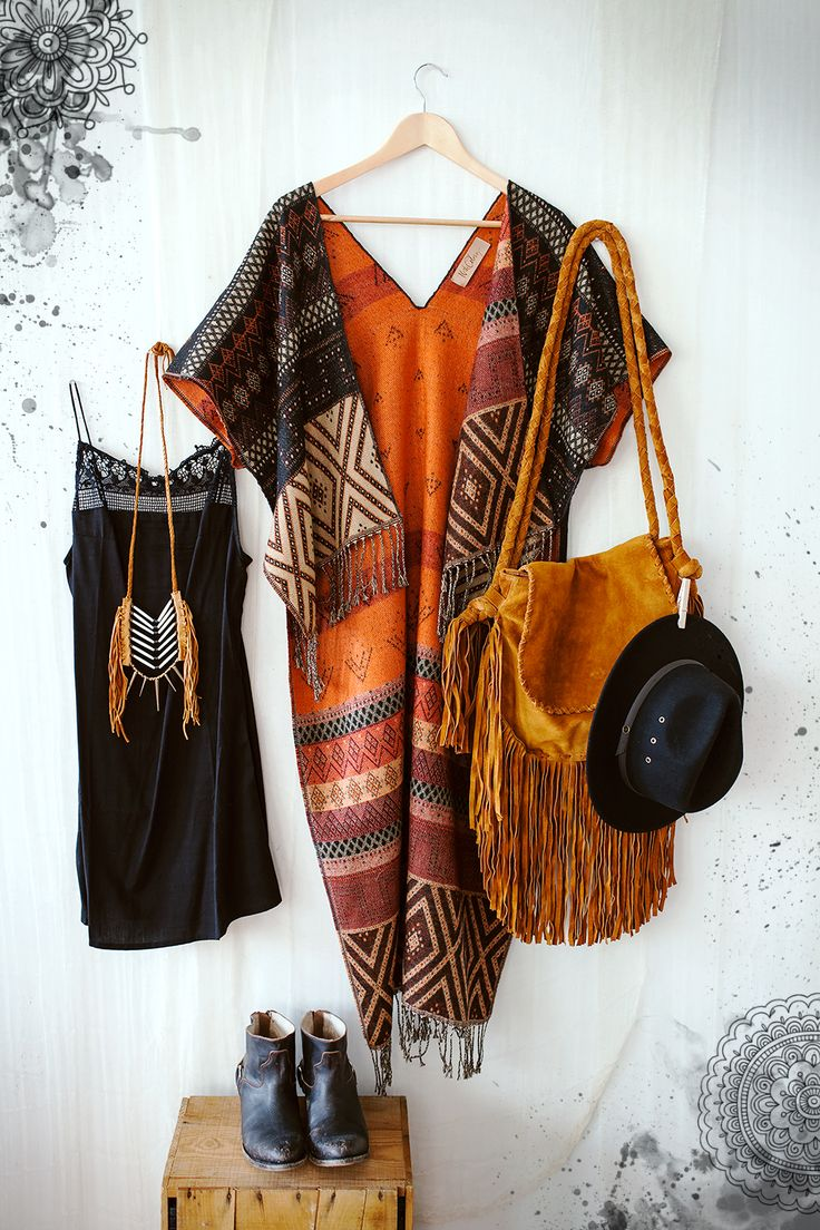 ☮ American Hippie Bohemian Style ~ Summer .. Festival Outfit .. SW Gypsy ❤️