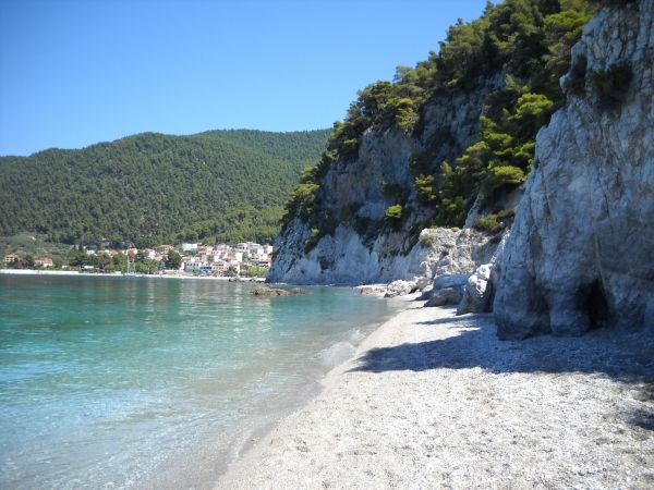 Hidden beach of Hovolo