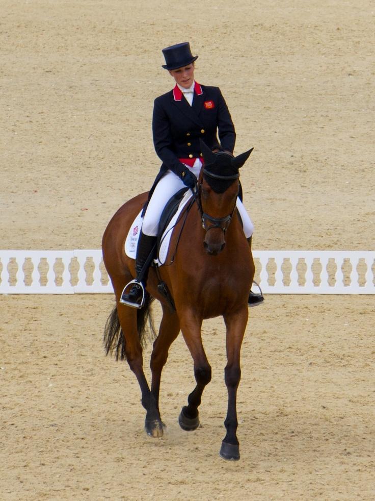 Zara Phillps & High Kingdom, Olympics 2012, Team GB, Eventing Silver Medal!