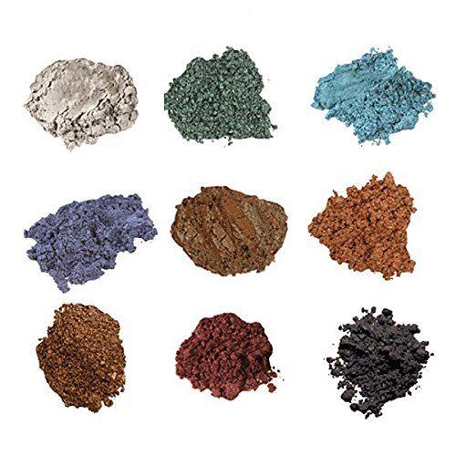 Bella Terra Cosmetics - Mineral Shimmers 9-Stack - Natural Makeup - Healthy Makeup - Eyeshadows (Emerald): Amazon.ca: Beauty
