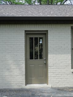 1950s painted brick houses | painted brick ranch color schemes - Google Search More