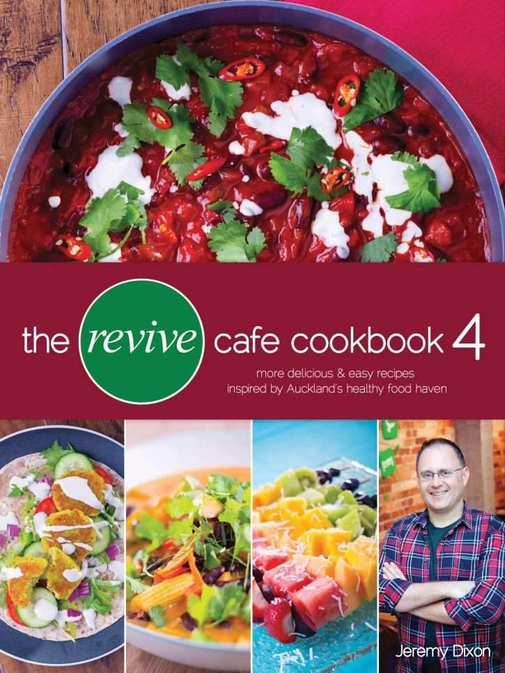 "Jeremy Dixon's latest book, The Revive Cafe Cookbook 4."" See two of his favorite recipes from the book below."