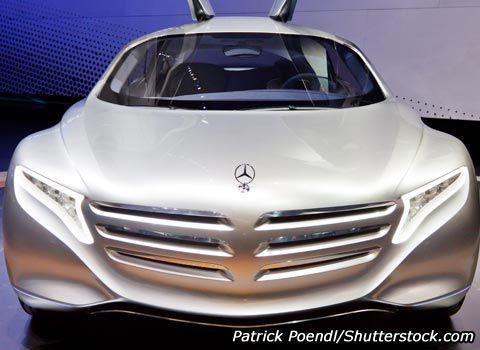 luxus auto mercedes zukunft f125