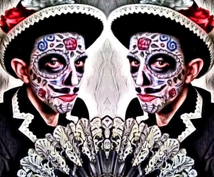 @leo__theo Dia De Los #Muertos #carnival 2018 #costumedesign & #makeup by #leotheo