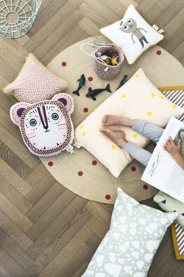 Guirlande Fanion Chambre Bébé : Rug with Animals for Kids