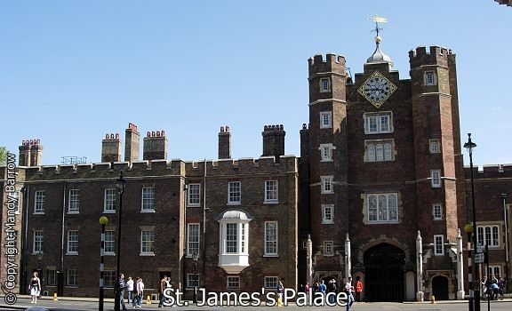 St. James's Palace is one of London's oldest palaces. Built largely between 1531 and 1536 it was a residence of kings and queens of England for over 300 years.