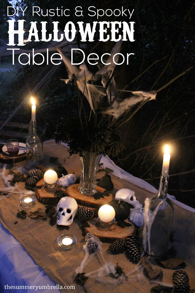 17 Best ideas about Halloween Table Decorations on ...