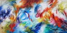 ColourfulSojourn, Tay Dall. www.AdelmanFineArt.com