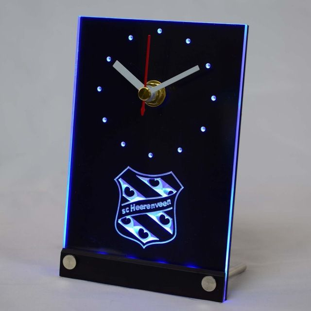 Check lastest price tnc1018 SC Heerenveen Eredivisie Football 3D LED Table Desk Clock just only $14.49 with free shipping worldwide  #clocks Plese click on picture to see our special price for you