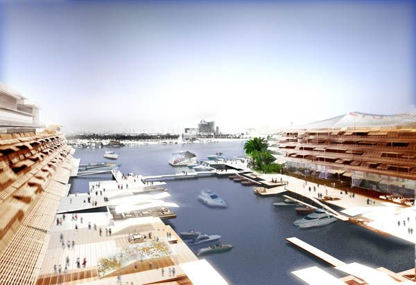 W Hotel I Jean Nouvel I Dubai I Waterfront, Shading Devices