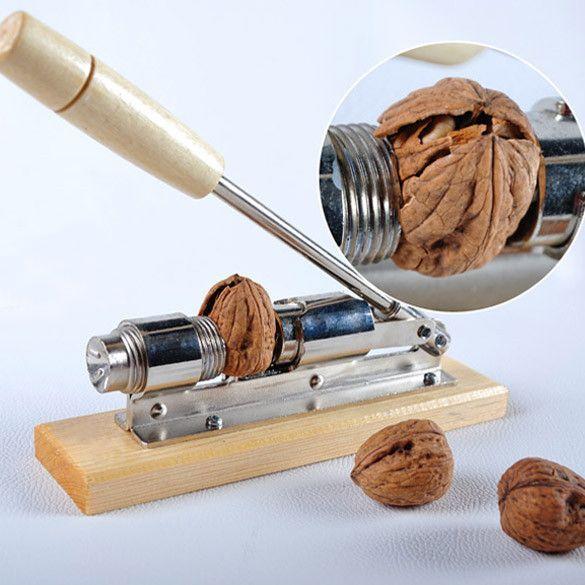 New Mechanical Heavy Duty Rocket Nut Cracker Nutcracker Nut Sheller for Home Kitchen Nut Cracker Opener Tools
