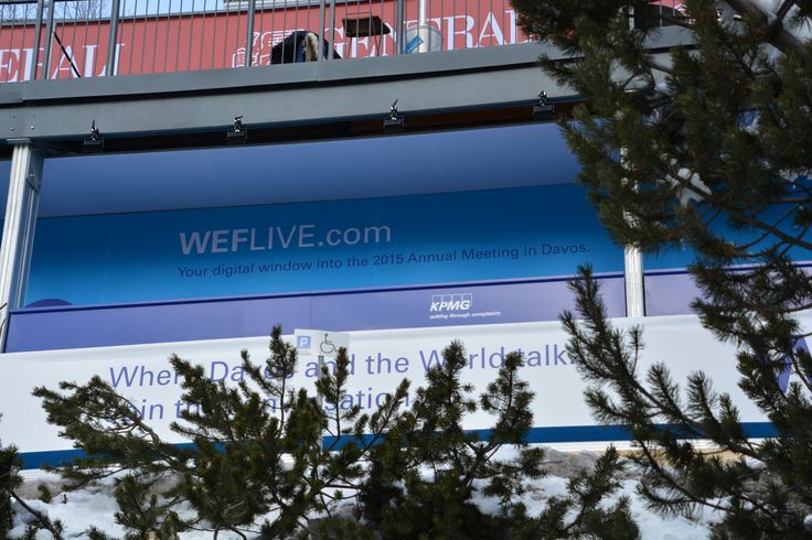 KPMG @ WEF 2015: On the ground in Davos