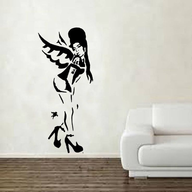 Best Banksy Graffiti Art Stickers Images On Pinterest - How do you put up wall art stickers
