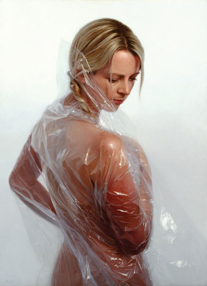 Plastic: New Hyper-Realistic Paintings by Robin Eley