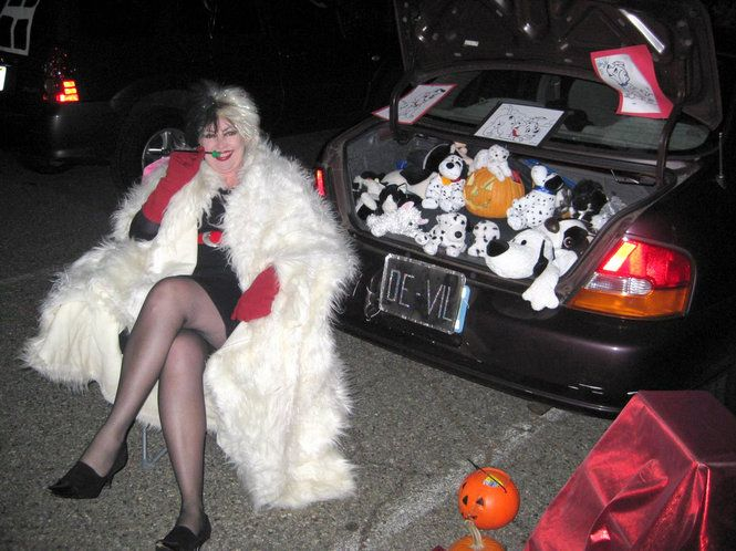 trunk or treat 101 dalmatians cruella devil