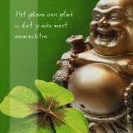 Het geheim van geluk.....