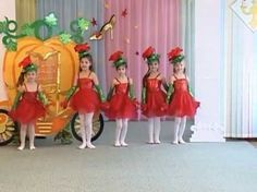 """Танец """"Цветочный чарльстон"""", авторская разработка хореографа-муз.руководителя Лукашенко О. А. - YouTube"""