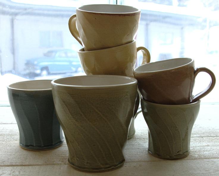 Muggs. Stoneware. Eva-Karin Sandqvist, Sweden