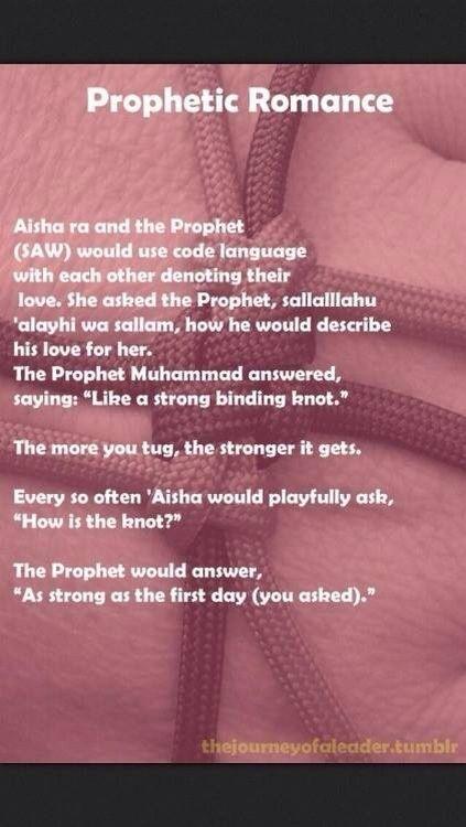 Love of Aisha (r.a) and Muhammad (s.a.w)