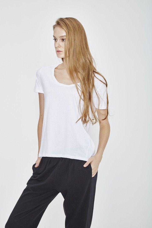 ORGANIC COTTON T-SHIRT #Tshirt #bio #coton #wenhua  #duverge #femme