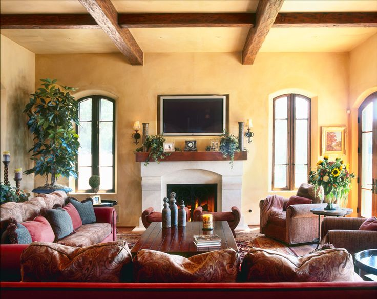 Roomreveal Tuscan Villa By Debra George Ryan Tuscan Farmhouse Pinterest