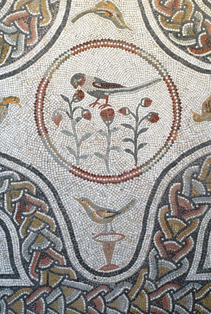 Detail, floor mosaic