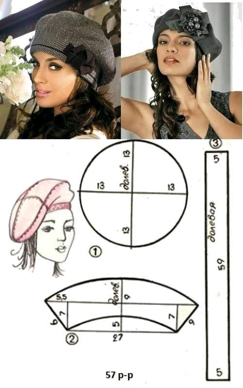 Instructions on making a true French beret. Including the fact, they are in French. However my rusty French has gotten an upgrade this past year. Sewing is far easier than Knitting to translate directions.