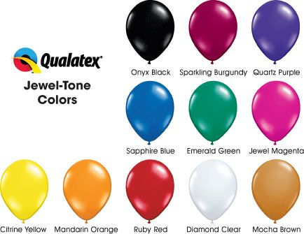 Jewel tones balloons 2 textiles structure and form - Jewel tones color wheel ...